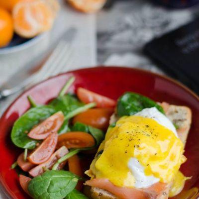 Hemingvėjaus kiaušinis arba Benediktas su lašiša
