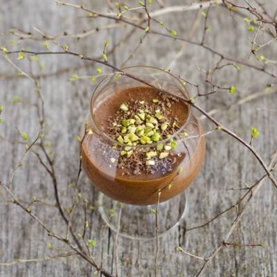 Nuostabūs Julia Child šokoladiniai putėsiai