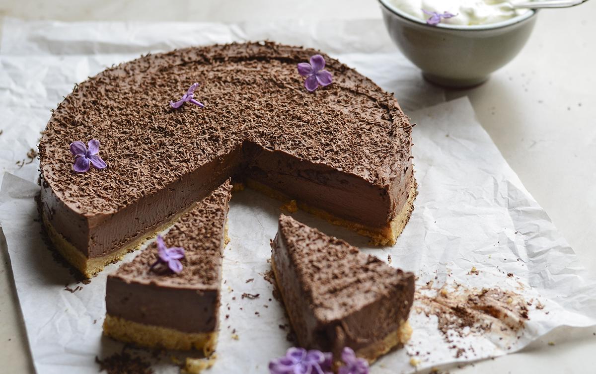 sokoladinis maskarpones nekeptas pyragas skanios dienos (7)