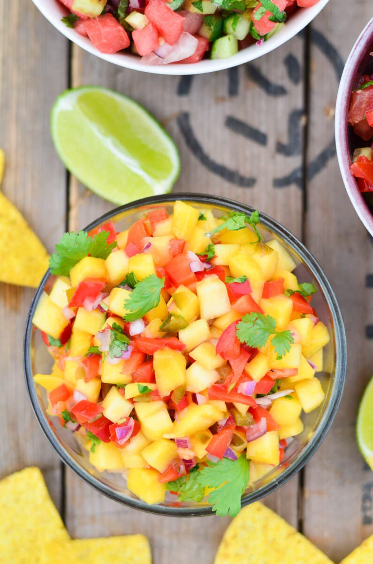 mango salsa skanios dienos