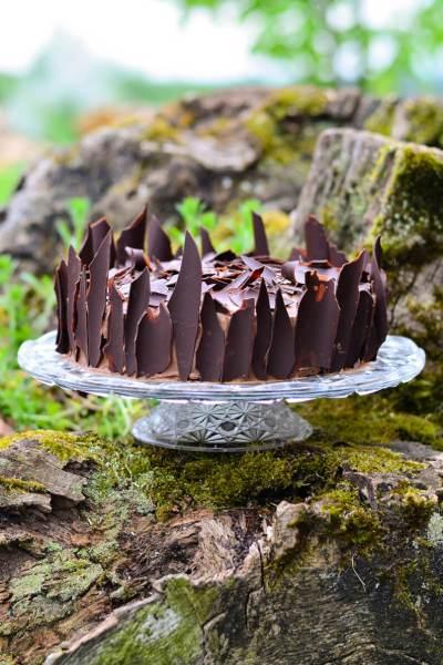 Šokoladinis velnio tortas