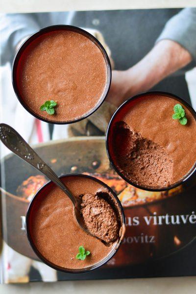 Sūdytos karamelės šokoladiniai putėsiai