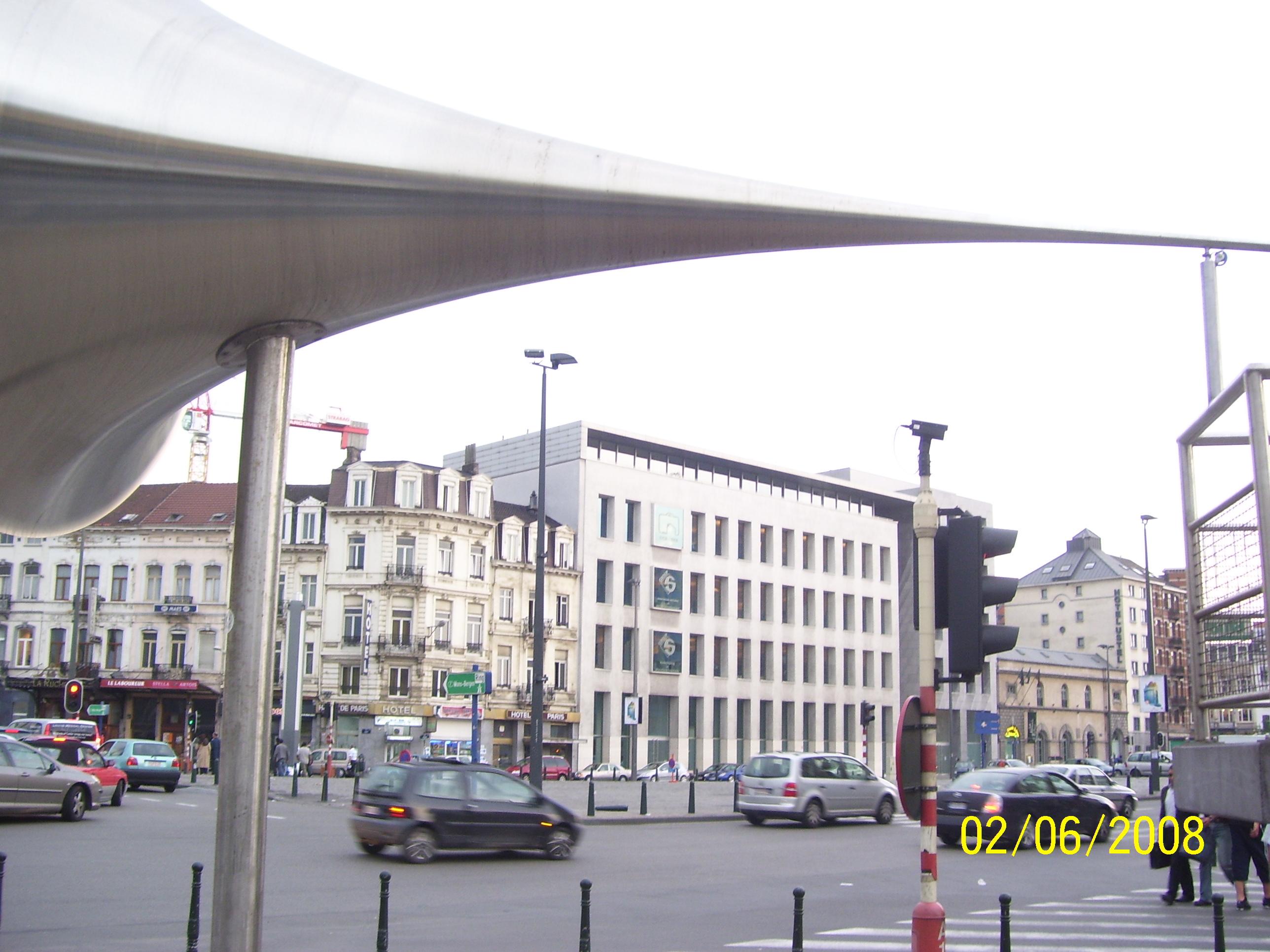Centro di Bruxelles, capitale europea                                      FOTO di Aldo Ciummo