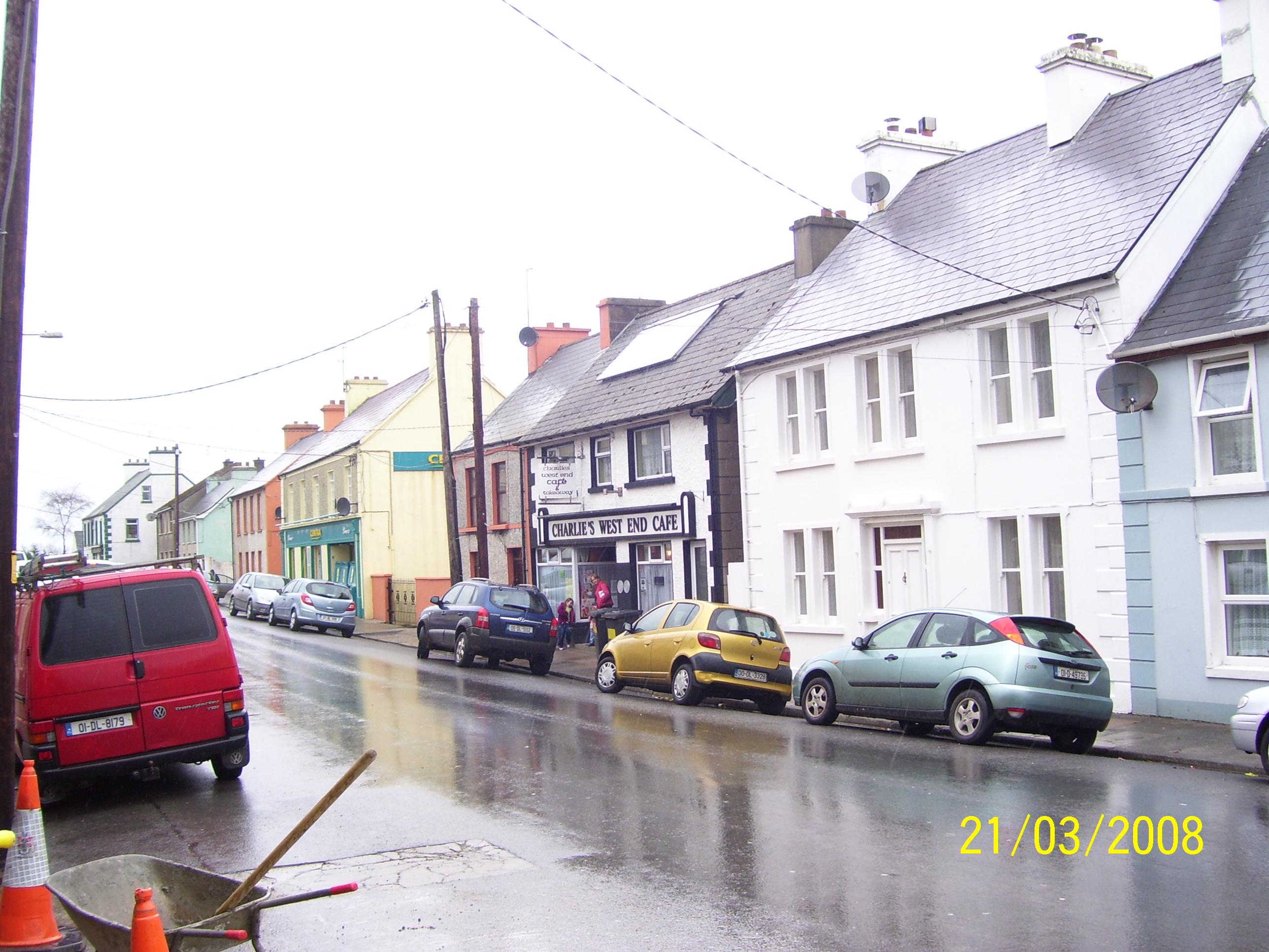 Il paesino di Ardara, nel nord dell'Irlanda
