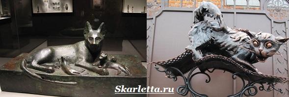 Статуэтки-кошек-6