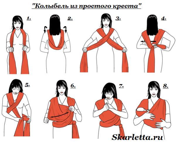 Слинг-шарф-Как-завязывать-слинг-шарф-8