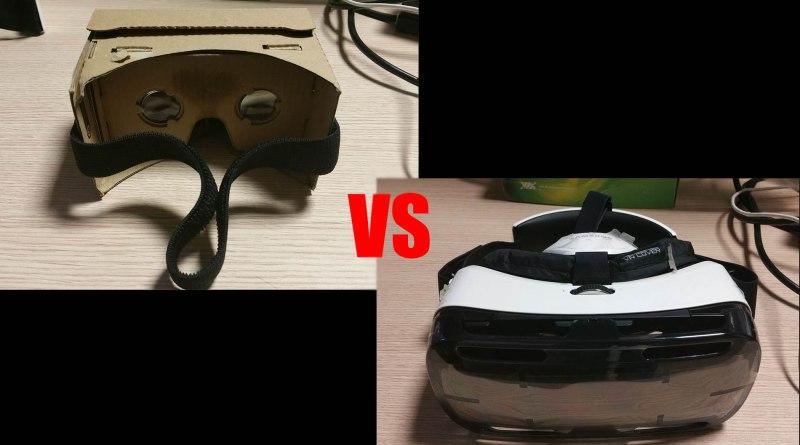 cardboard vs gear vr