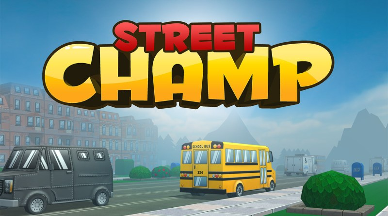 Street champ VR virtual reality game