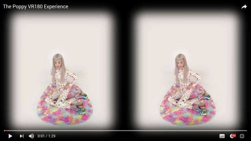 Youtube VR180 videos