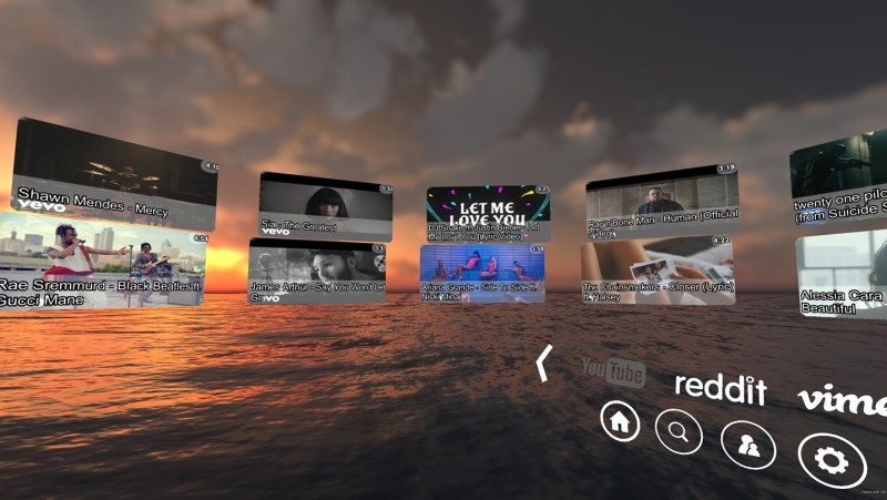 Rave VR social video