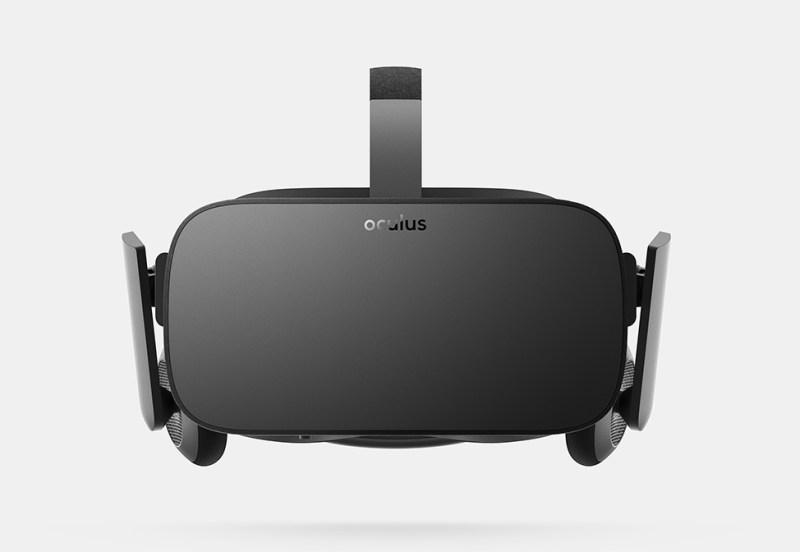 Oculus Rift front