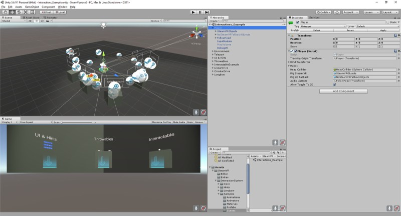 First impressions on SteamVR Unity Plugin from an Oculus