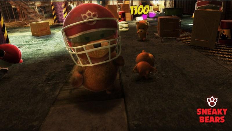 Sneaky Bears VR Oculus review