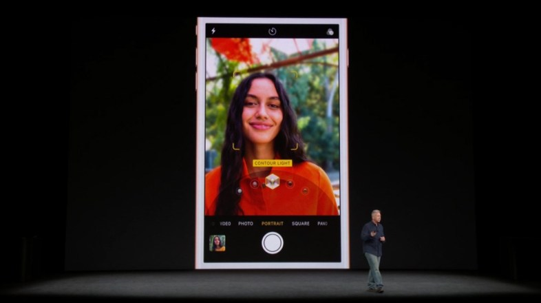 iPhone X presentation Apple event AR VR