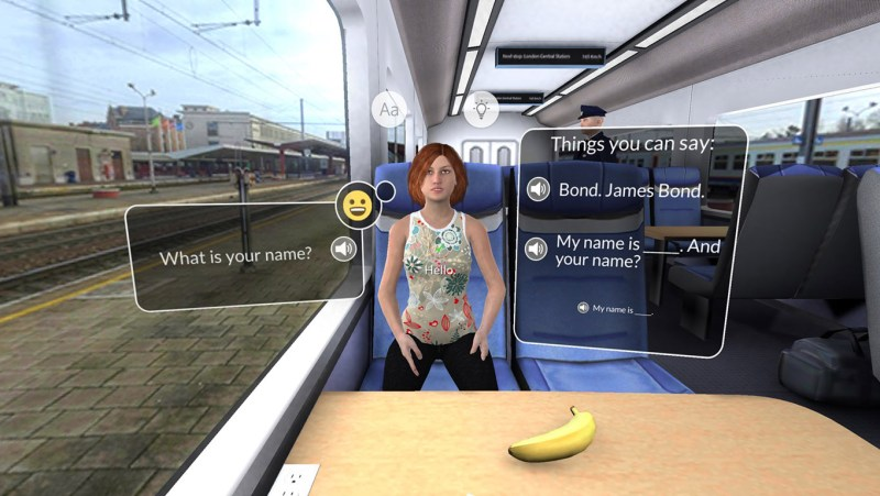 Mondly VR review: a nice early demo for the future of