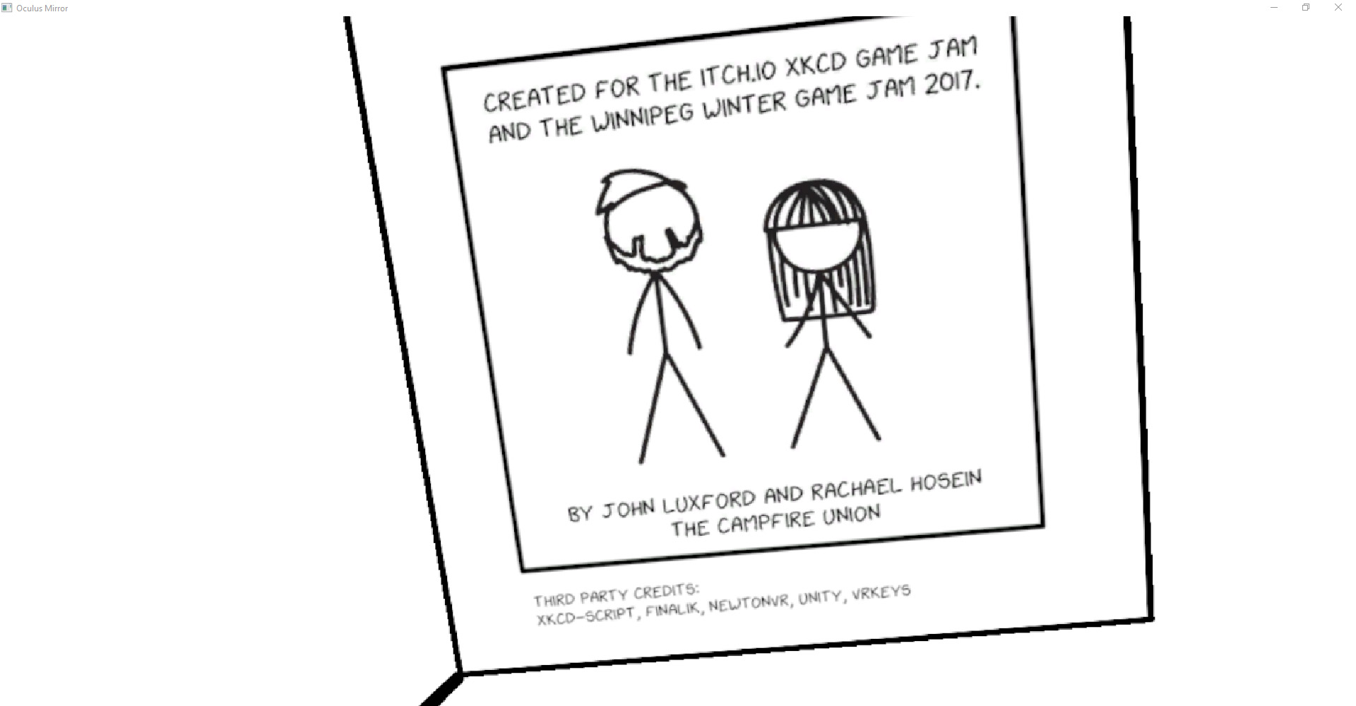 Xkcd VR enter the world of Xkcd comics in virtual reality The