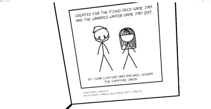 xkcd vr enter the world of xkcd comics in virtual reality. Black Bedroom Furniture Sets. Home Design Ideas