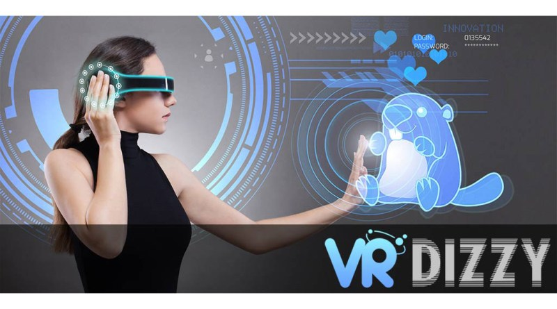 vr dizzy satirical virtual reality website