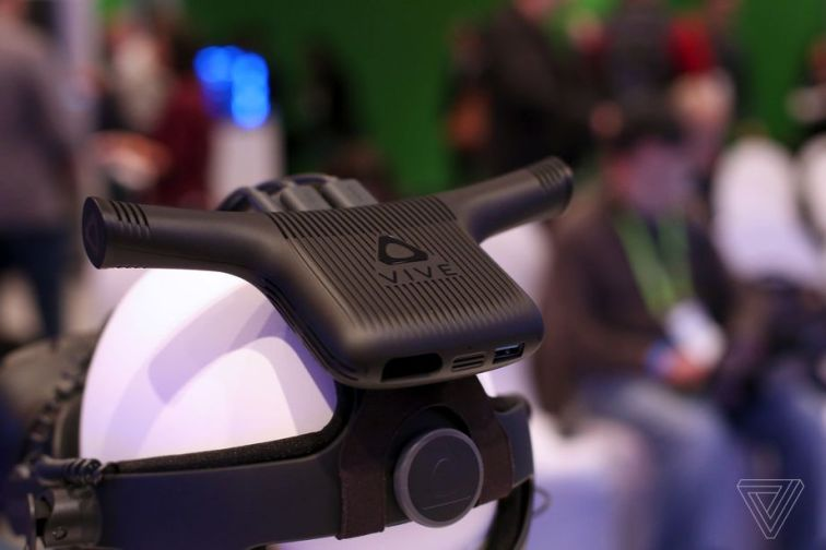 vive wireless adapter vr ces