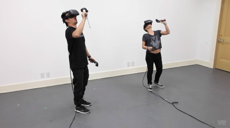 SteamVR tricks: how to maximize your game area and use