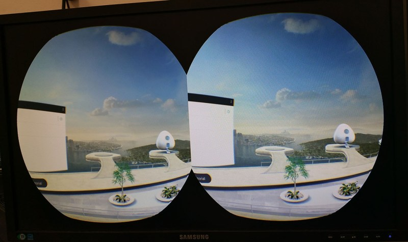 how to Stream Vive Focus content external monitor
