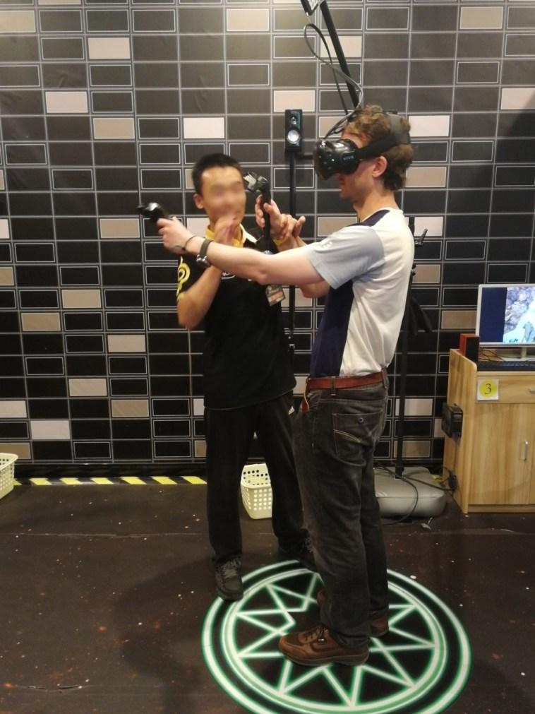 virtual reality vr china experience
