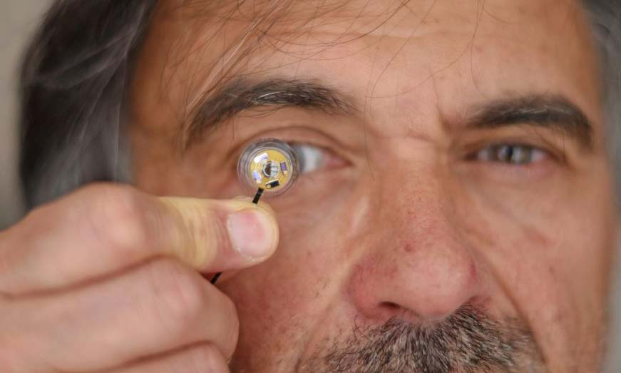 AR contact lenses are far away, but a new research is paving their way