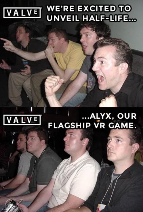 half life alyx vr disappointment
