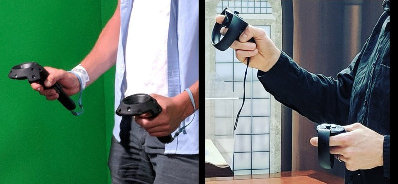 vive wand vs oculus touch