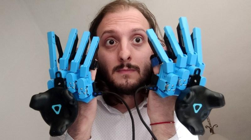 senseglove vr gloves review