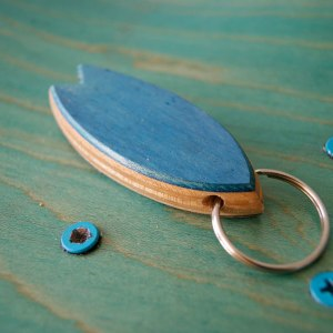 Surfboard Keychain Skateboarding Upcycling- Surfboard Keychain Skateboarding Upcycling