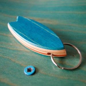 Surfboard Keychain Skateboarding Upcycling- Surfboard Keychain Skateboarding Upcycling