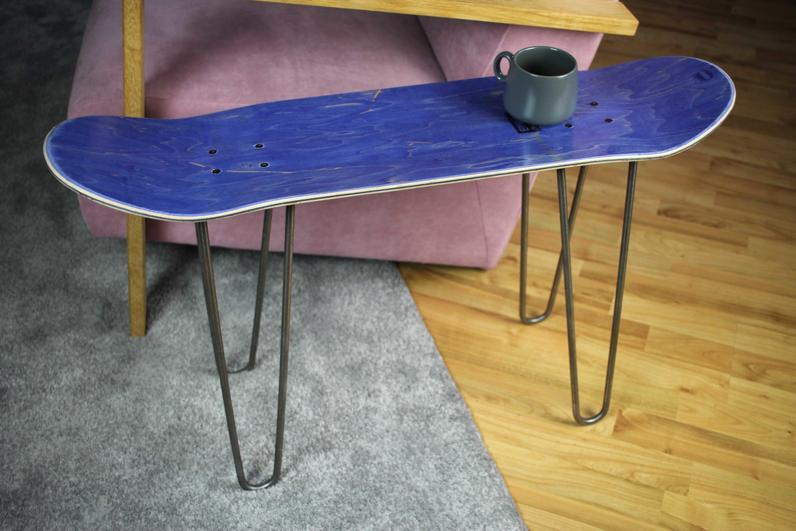 Skateboard Bench Purple