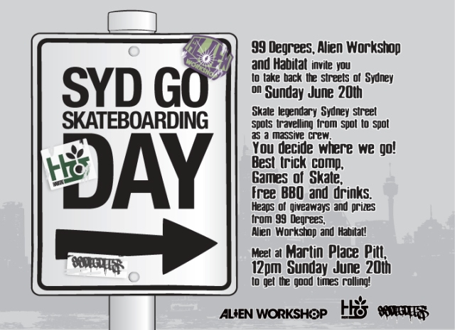 Go Skateboarding Day Sydney 2010
