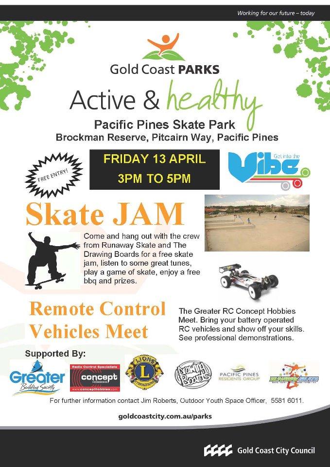 Pacific Pines Skate Jam
