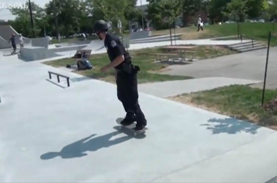 Canada's First Skateboarding Cop