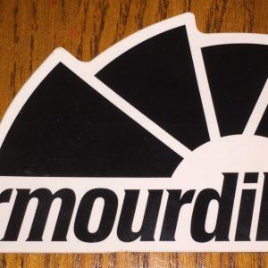 Armourdillo Logo Sticker