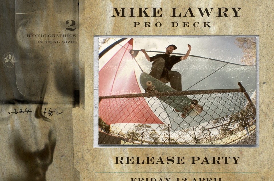 Alien Workshop Mike Lawry Pro Deck Release Party