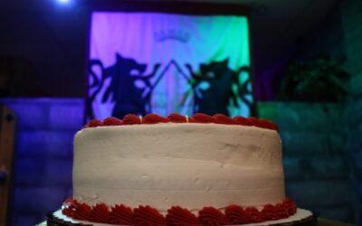 Cake in Robin Hood Room