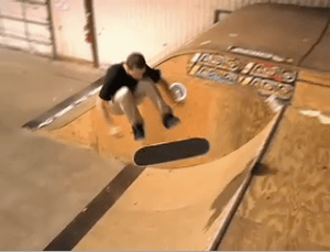 Half Cab Kickflips On Transition with Derek Elmendorf