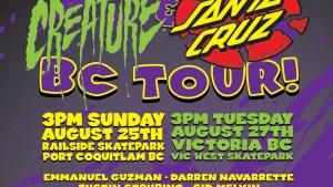 NHS Creature Santa Cruz Tour August 2013 IG