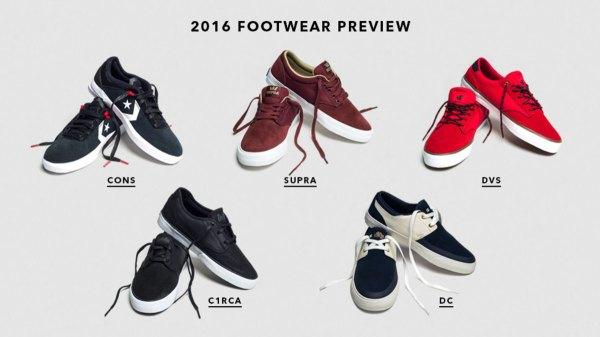 Footwear Guide 2016 Presented by SkateWareshouse.com