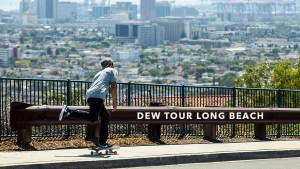Dew Tour long beach marquee