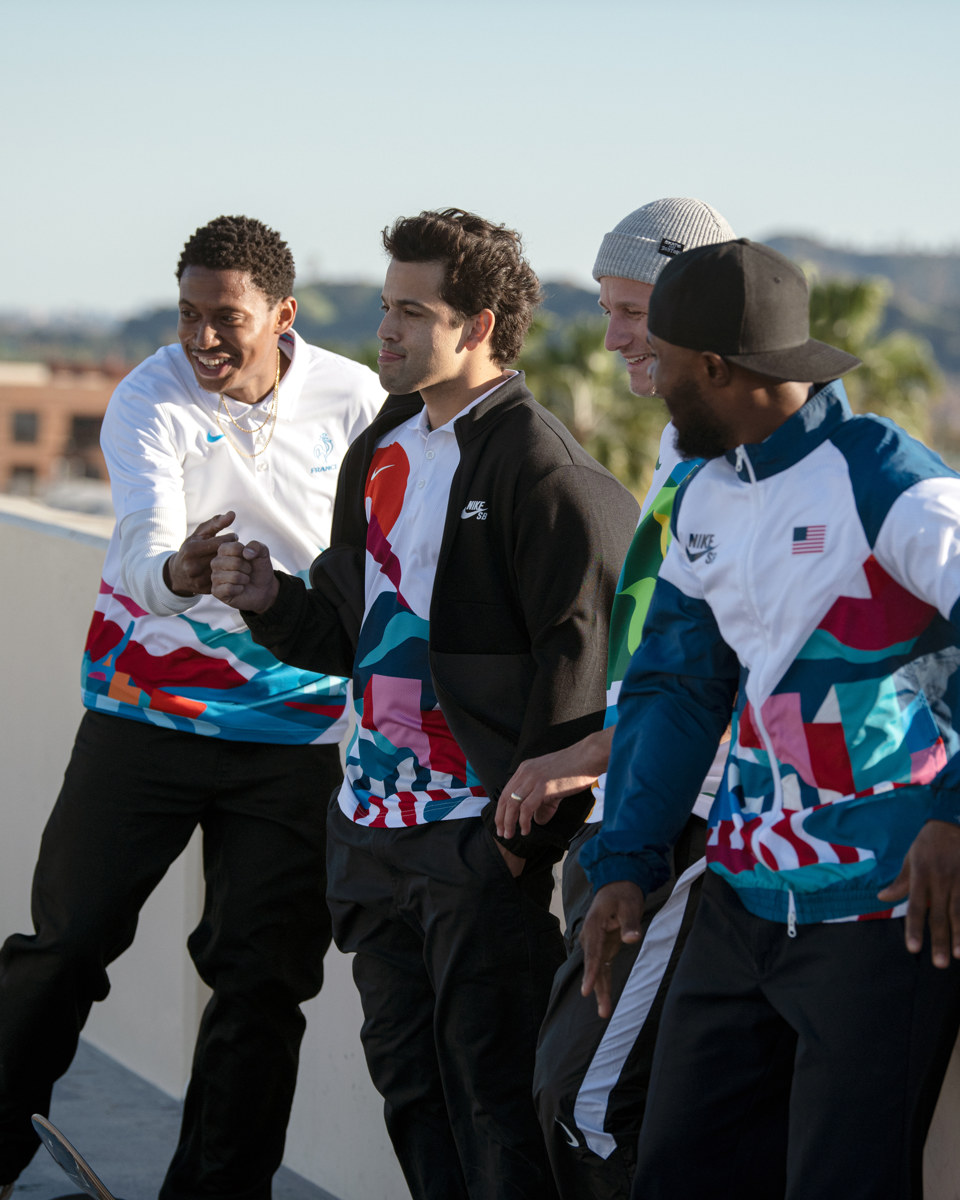 Olympic Skateboarding Uniforms
