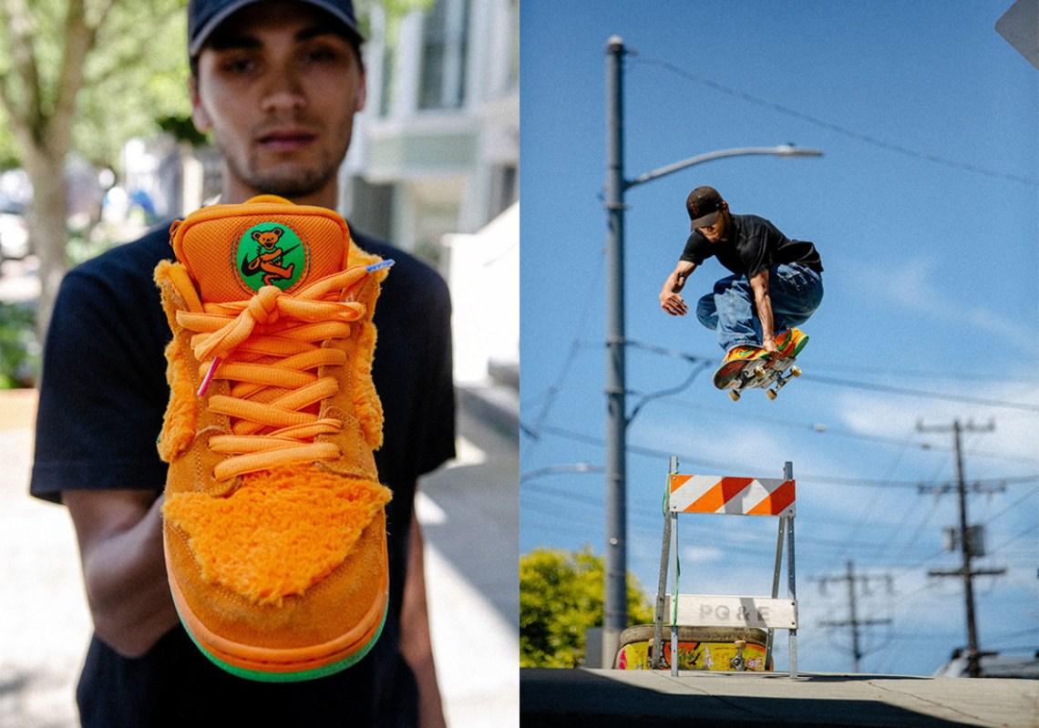 Grateful dead dunks orange release info 3