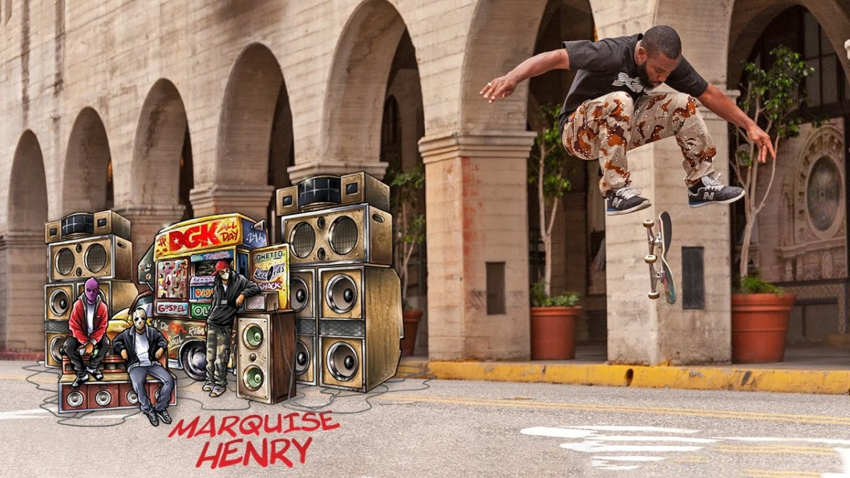 Marquise Henry DGK Beatbox Part and Interview | Transworld SKATEboarding