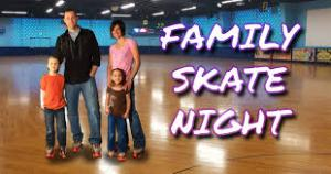family skate night 1 - family skate night 1