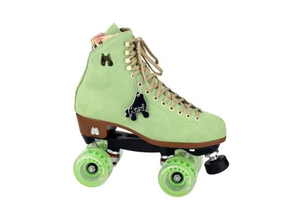 Moxi rollerskates groen