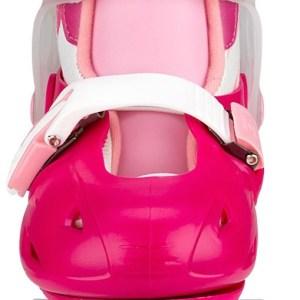 Nijdam junior rolschaatsen verstelbaar kleur roze 2