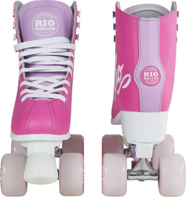 RIO rolschaatsen roze Vooraanzicht